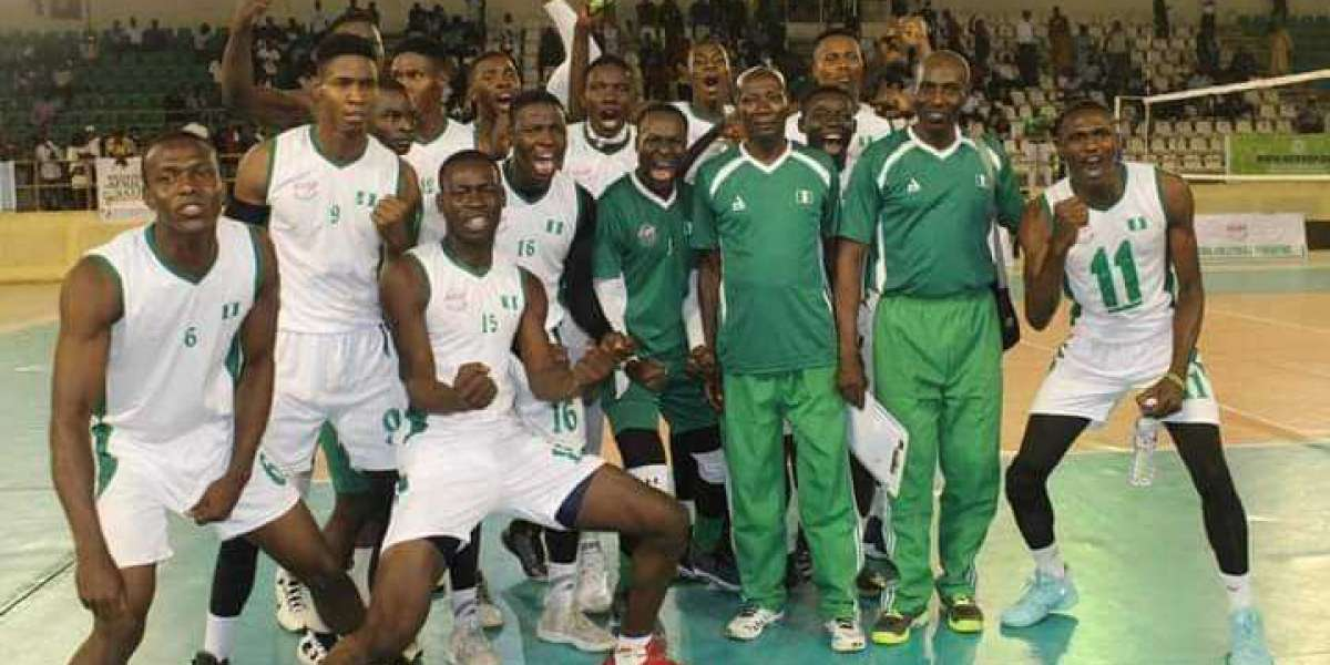 CAVB Volleyball: Nigeria Comes From Two Sets Down To Beat Cameroon