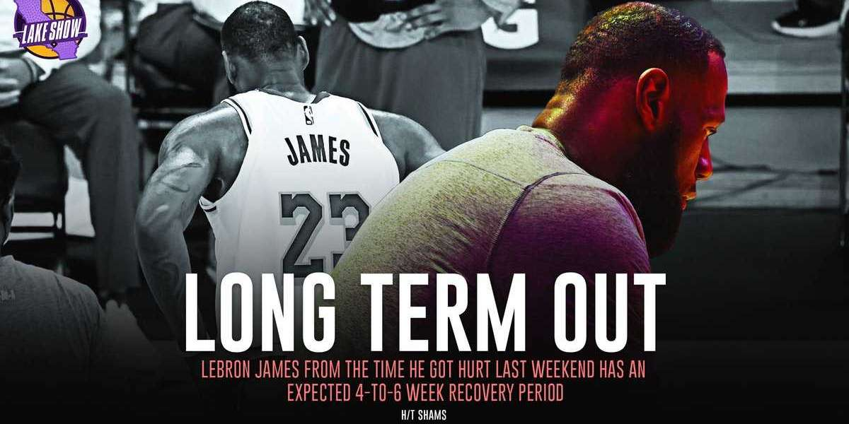 [Nba]: LeBron James from the time he got hurt last weekend has an expected 4-to-6 week recovery period.